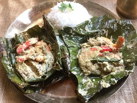 Chingri Macher Paturi (2 types) | Steamed Prawn Paturi | Bengali Traditional Recipe – In Bengali