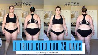 I Tried KETO for 28 Days | Sarah Rae Vargas