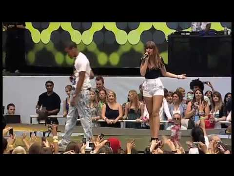 Chipmunk & Esmee Denters - Until You Were Gone - Live Capital Summertime Ball 2010 [ HIGH QUALITY ]
