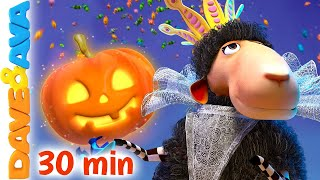 🎃 Little Pumpkin and More Halloween Songs | Nursery Rhymes by Dave and Ava 🎃