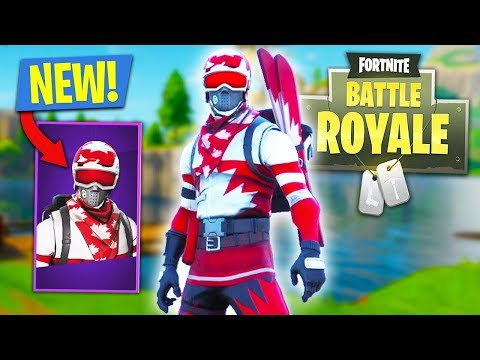 FORTNITE BUYING NEW ALPINE ACE SKIN! GAMEPLAY! OMG SHOULD YOU BUY IT?