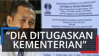 Pasca-Posting di Facebook Sindir Jokowi dan Jan Ethes, Dosen UNNES Dinonaktifkan, Tugas Kementerian