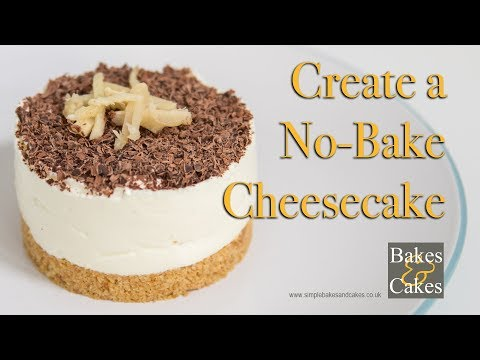 How to make a no bake cheesecake: Video recipe