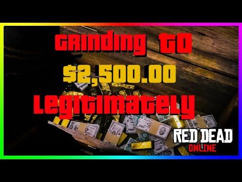 RDR2 ONLINE Grinding to $2,500.00 Legitimately! Playing all Story Missions, Hunting Fishing and More