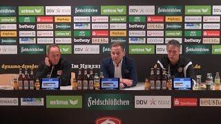 11. Spieltag | SGD - EBS | Pressekonferenz nach dem Spiel