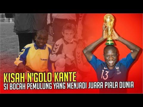 KISAH N'GOLO KANTE : Si Bocah Pemulung Yang Berhasil Menjadi Juara Piala Dunia
