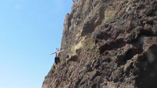Rock Climbing Falls, Fails and Whippers Compilation 2016 Part 6