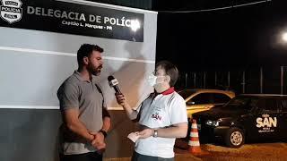 Jovem é presa por tráfico de drogas em Santa Lúcia