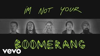 Walk Off The Earth - Boomerang (Lyrics)