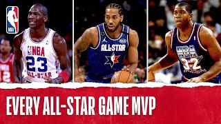 Every NBA All-Star Game MVP in League History | Kobe, LeBron, Kawhi, and More!