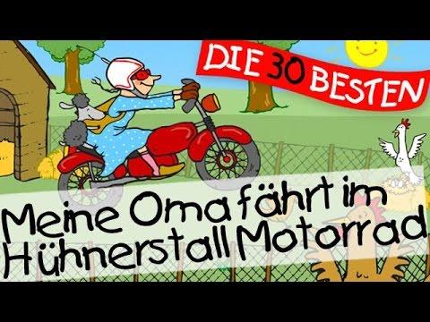 Meine Oma fährt im Hühnerstall Motorrad - Kinderlieder Klassiker zum Mitsingen || Kinderlieder