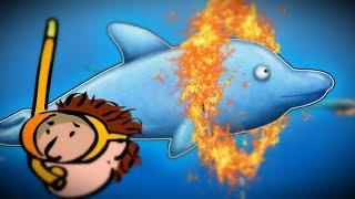 Tasty Blue #3 СЪЕСТЬ ОКЕАН! Мультик игра для детей про РЫБКУ ОБЖОРУ похожая на СЪЕДОБНУЮ ПЛАНЕТУ