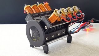 Top 10 AMAZING HOMEMADE ENGINE Models Starting Up And Running