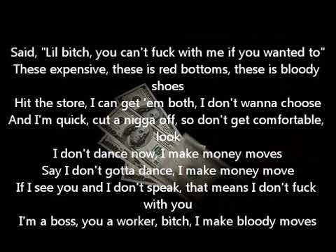 Cardi B - Bodak Yellow Lyrics (Money Moves)