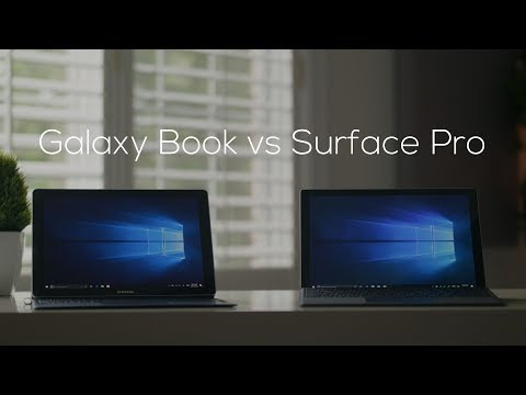 Samsung Galaxy Book vs Microsoft Surface Pro Comparison!