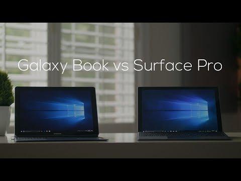 Samsung Galaxy Book vs Microsoft Surface Pro Comparison!