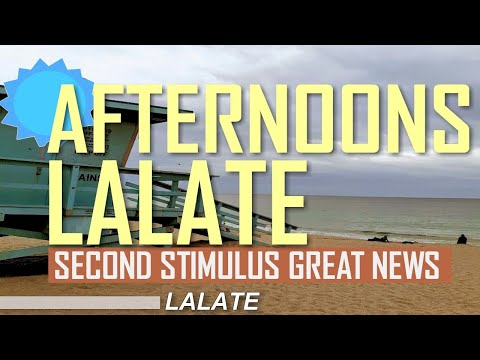 GREAT NEWS! SECOND STIMULUS HAZARD PAY $10K | AFTERNOONS LALATE | Second Stimulus Check Update TODAY
