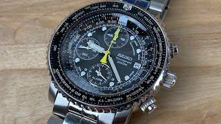 Seiko sna411 flightmaster chronograph