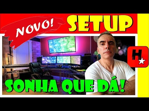 Setup Gamer 🎮 Sonha que dá! (Setup Youtuber Hunters Clan)