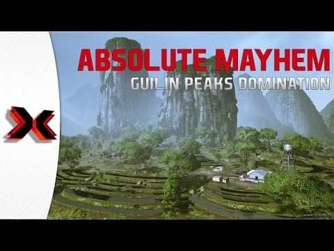 Absolute Mayhem - 64 player Madness - Guilin Peaks Domination