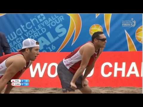 Fijalek G./Prudel M.-Binstock J./Schachter S.-SWATCH FIVB WORLD TOUR FINALS-Quarterfinals
