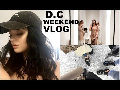 D.C weekend vlog!  