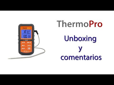 Termometro con sonda ThermoPro para Carnes - Alimentos