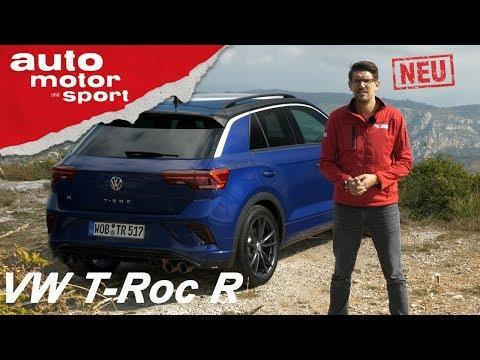 VW T-Roc R (2019): Krasser Kracher oder Rohrkrepierer? - Review/Fahrbericht | auto motor und sport