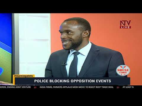 KICK STARTER: Why does police keep blocking Opposition events?