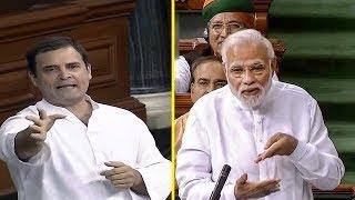 Rahul, Modi face-off on jobs in Lok Sabha | Kholo.pk