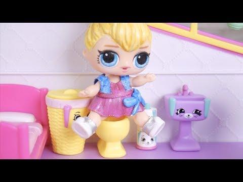 LOL Surprise New Shopkins Happy Places Dolls with Barbie Ambulance Goldie