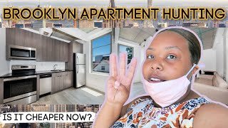 NYC APARTMENT HUNTING! Is it CHEAPER now? $2,500 BUDGET!