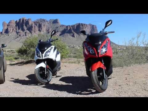 Kymco Downtown 300i Review 2013&2015 – Chandler Powersports – Phoenix Scooter Club