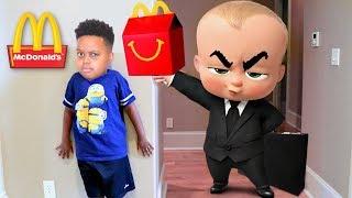 BOSS BABY McDonald
