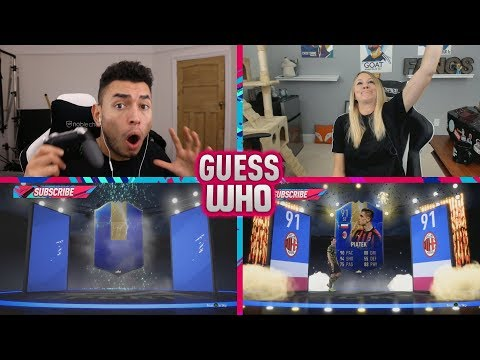 OMFG WE PACKED 3 SERIE A TOTS IN GUESS WHO FIFA vs Fangs (FIFA 19)