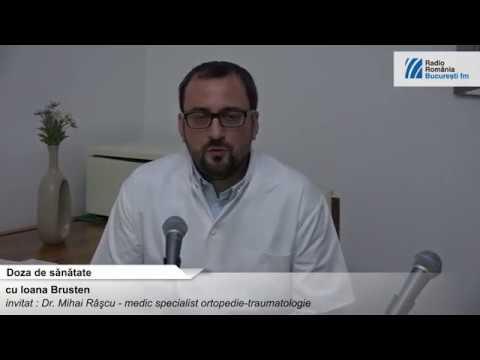 Întărirea și tratarea articulațiilor