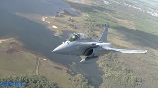 Indian Air Force Dassault Rafale RB-002 In Flight Air-to-Air