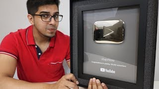 UNBOXING - 100,000 Subscribers Silver Play Button - 2018 AWARD!