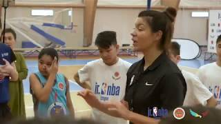Jr. NBA - Мастер класс Вании Чернивец