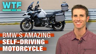 BMW's amazing self-driving motorcycle | What The Future