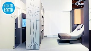 Transformierbare und platzsparende Möbel ▶2
