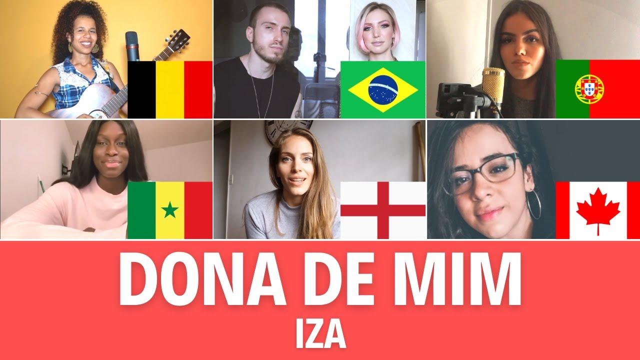 Quem Canta Melhor? Cover Dona de Mim (Bélgica, Brasil, Canadá, Inglaterra, Portugal, Senegal)