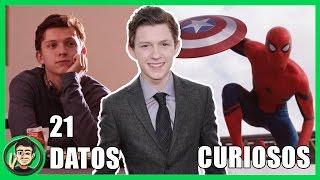 21 Curiosidades Que NO SABIAS Sobre Tom Holland (Spiderman Homecoming) | ZomByte