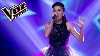 Saray canta 'Diamonds'   Audiciones a ciegas   La Voz Teens Colombia 2016