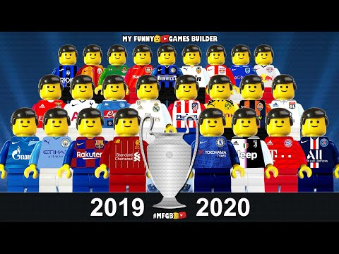 Preview Champions League 2019/20 • Group Stage Draw Season 2020 • Lego Football Film