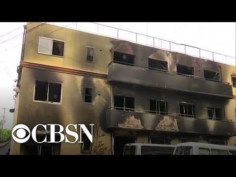 Investigation into Japanese anime studio fire
