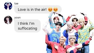 BTS TEXTS ► The Ones In The Boyfriend Zone (a New Ship Forms Pt. 10)