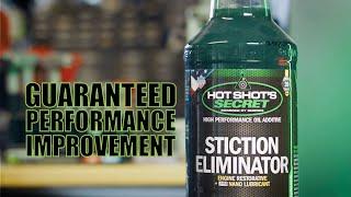 Hot Shot's Secret Stiction Eliminator Engine Oil Additive