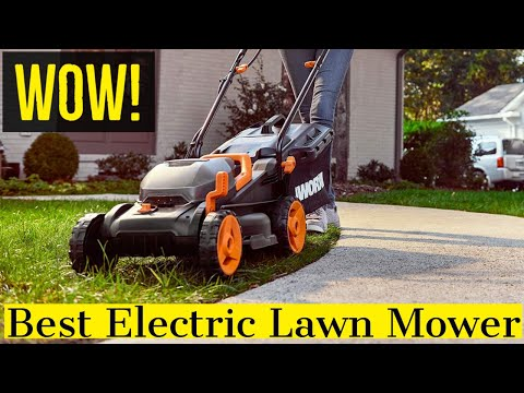 The Most Powerful Electric Self Propelled Lawn Mower
