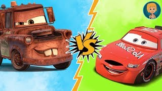 Lightning McQueen   Todd Marcus Vs Tow Matter Match Cars With Gerti Toys